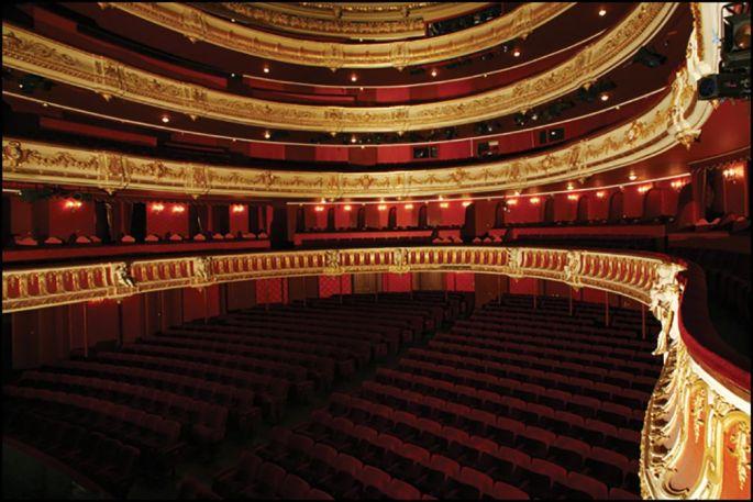 La grande salle de l\'Opéra national du Rhin à Strasbourg