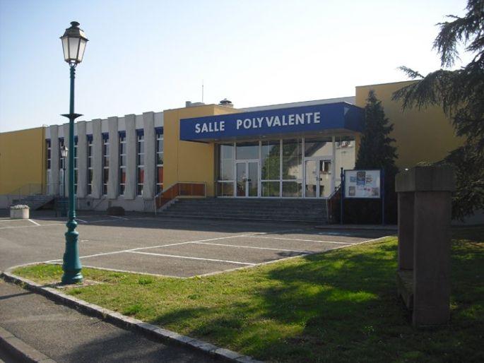 Salle polyvalente de Chalampe