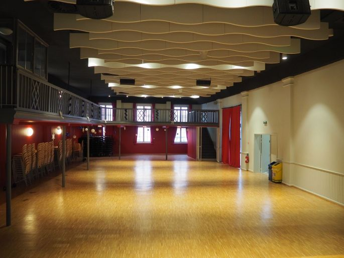La salle socio-culturelle à Eckbolsheim