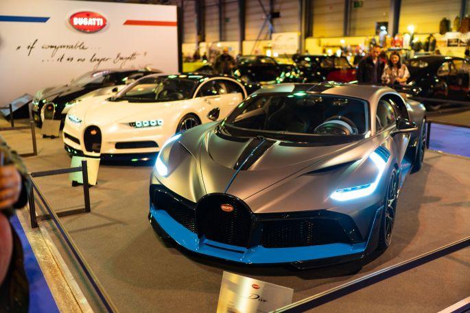 Les véhicules d\'exception sont aussi au Salon Auto Moto Strasbourg, comme ces Bugatti