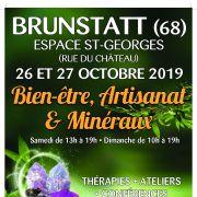 Salon bien-être, artisanat et minéraux à Brunstatt