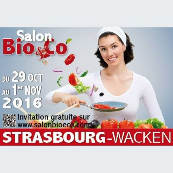 Salon bio co 2016 strasbourg automne parc expo for Salon strasbourg wacken
