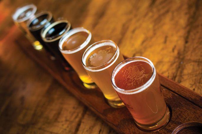 Plus de 80 bières sont proposées à la dégustation