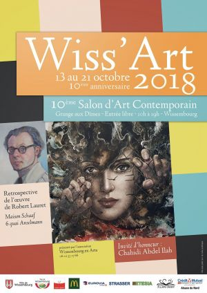 Salon d\'art contemporain Wiss\'Art 2018