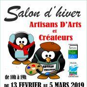 Salon d\'hiver - Artisans d\'Art et Créateurs à Gérardmer