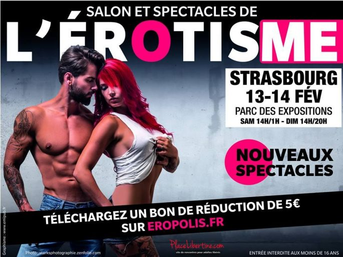 Salon de l 39 rotisme 2016 strasbourg eropolis parc expo for Salon strasbourg wacken