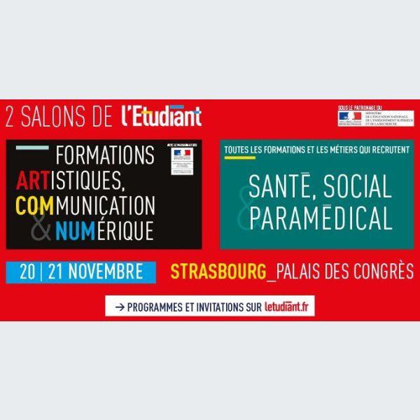 Salon de l 39 etudiant strasbourg pmc for Salon de musique strasbourg