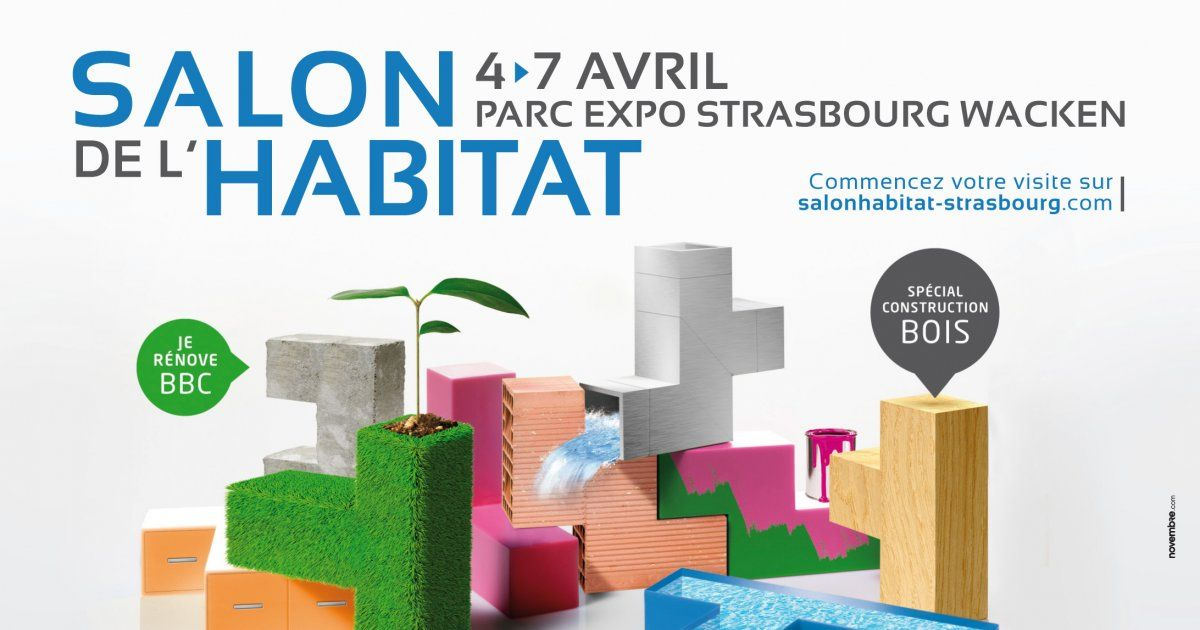 Salon de l 39 habitat strasbourg 2014 parc expo - Salon de l habitat caen ...