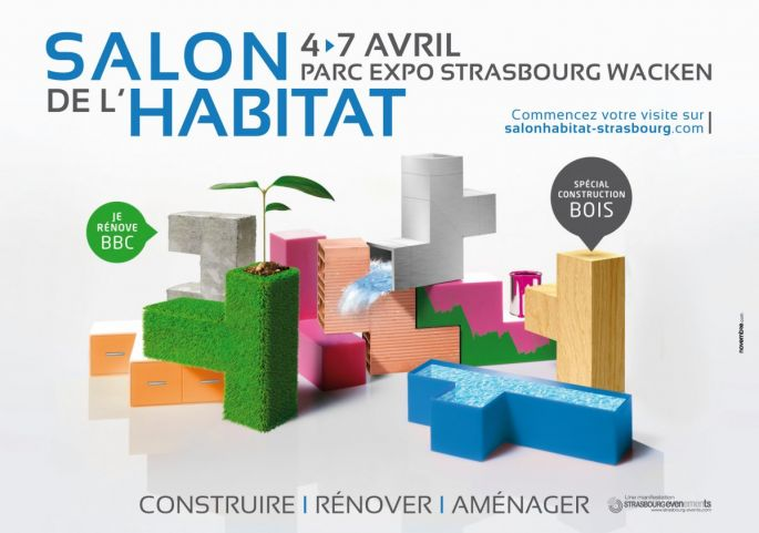 Salon de l 39 habitat strasbourg 2014 parc expo for Salon habitat brive