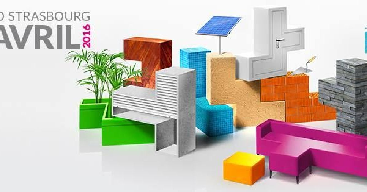 Salon de l 39 habitat strasbourg 2016 parc expo for Salon de l habitat valence