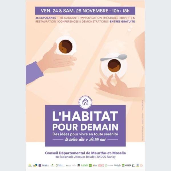 Salon de l 39 habitat pour demain nancy 2018 for Salon habitat nancy