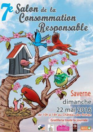 Salon de la consommation responsable à Saverne 2016