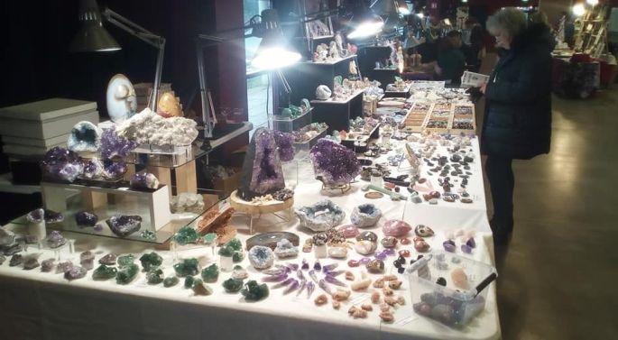 Salon de Noël du bien-être, artisanat et minéraux