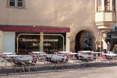 Salon de Thé - Restaurant des Arcades à Colmar