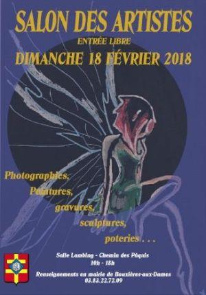 Salon des artistes à Bouxières aux Dames 2018