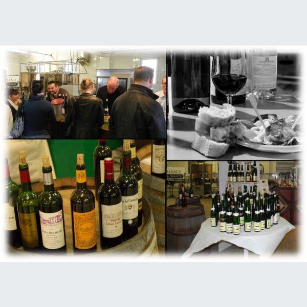Salon des vins de france et du monde barr au cellier st for Salon vin bordeaux