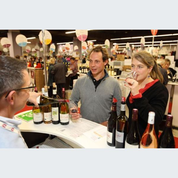 Salon des vins des vignerons ind pendants strasbourg for Salon 2018 france