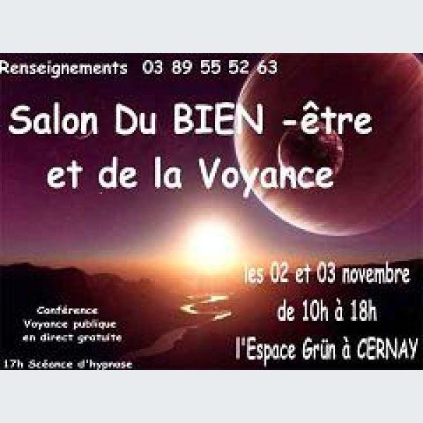 Salon du bien tre et de la voyance cernay 2013 espace for Salon de la voyance