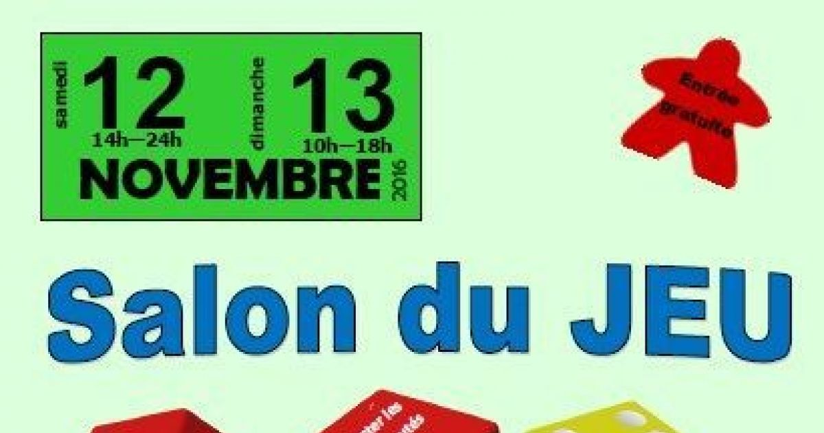 Salon du jeu 2016 kaysersberg salle th o faller for Salon du jardinage 2016