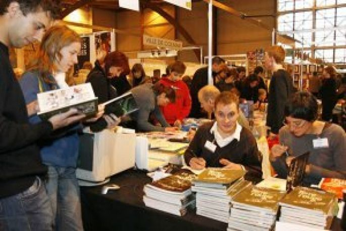 Salon du Livre de Colmar 2012