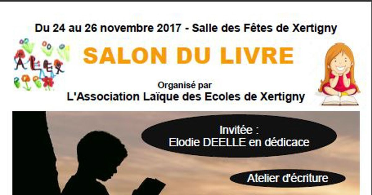 Salon du livre 2018 de xertigny for Salon du vehicule de loisir 2017