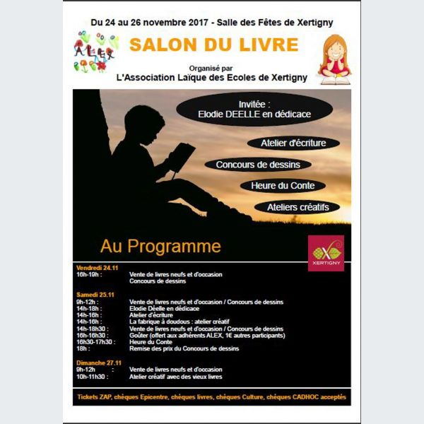 Salon du livre 2018 de xertigny - Salon du livre troyes ...