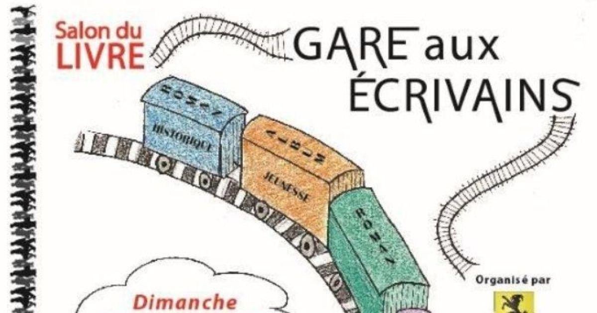 Salon du livre gare aux crivains 2017 geispolsheim for Salon du livre 2017 montreuil