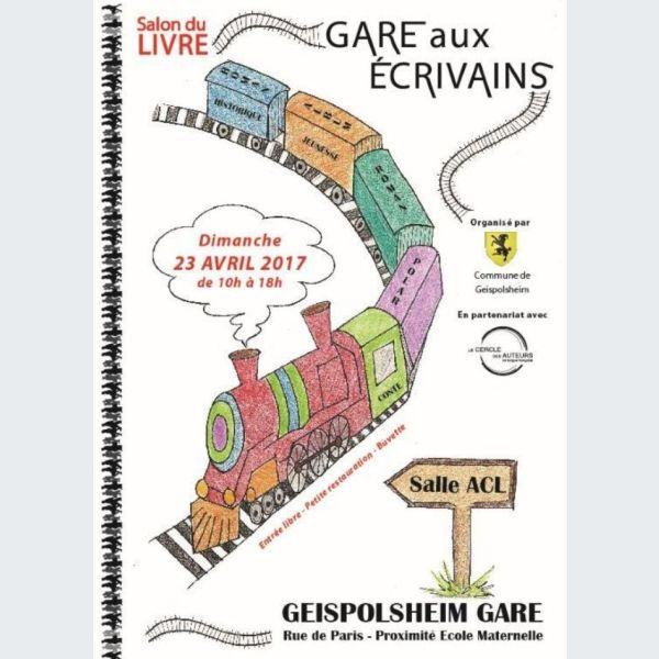 Salon du livre gare aux crivains 2018 geispolsheim for Salon du livre paris 2018