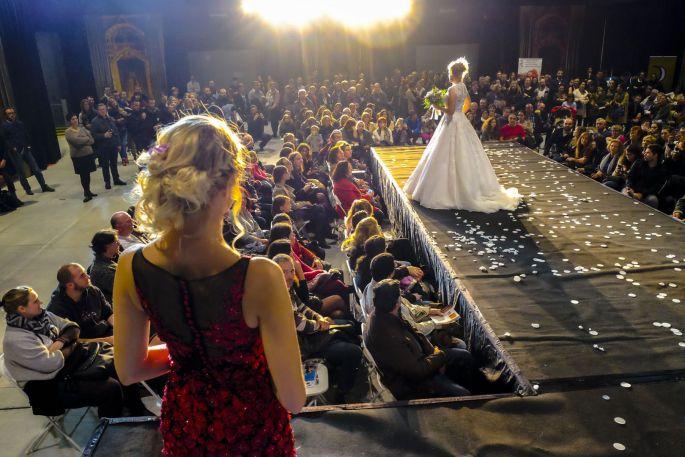 Salon du mariage à Nancy: défilé de robes de mariées