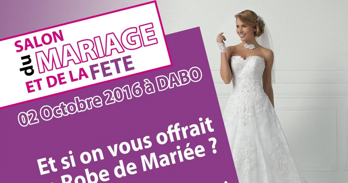 Salon du mariage et de la f te dabo 2016 for Salon de la photo 2016