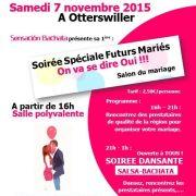 Salon du mariage - Soirée spéciale futurs mariés 2015 à Otterswiller