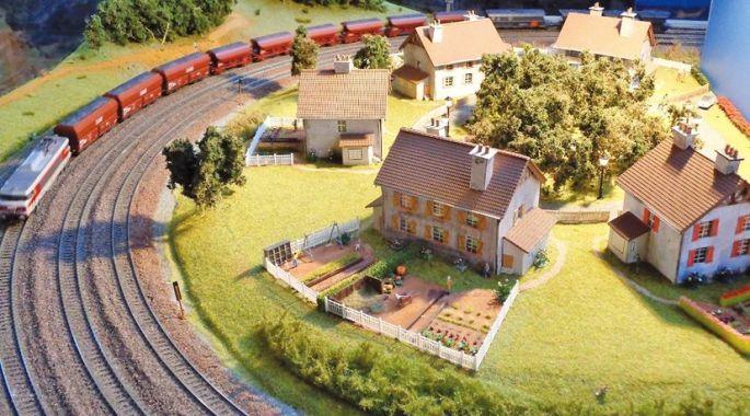 Un diorama ferroviaire
