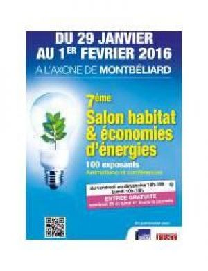 Salon habitat economies d 39 energies montb liard l 39 axone for Salon habitat brive