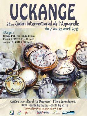 Salon international de l\'Aquarelle à Uckange 2018