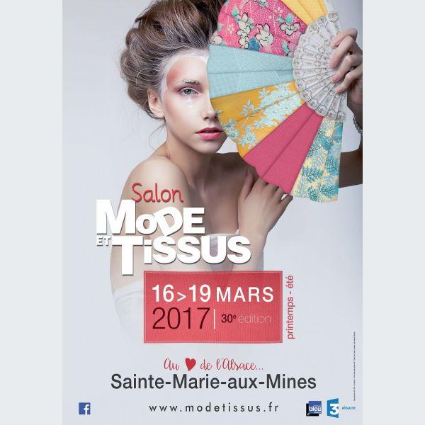 Salon mode tissus 30 edition printemps et 2017 for Salon du patchwork sainte marie aux mines