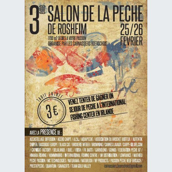 Salon multi p che rosheim des carnassiers boerschois - Salon de la peche a la mouche ...