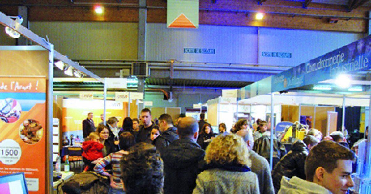 Salon r gional fomation emploi colmar 2013 parc expo for Maison de l emploi strasbourg