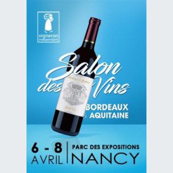Salon vins de bordeaux et d aquitaine nancy 2018 for Salon du vin nancy