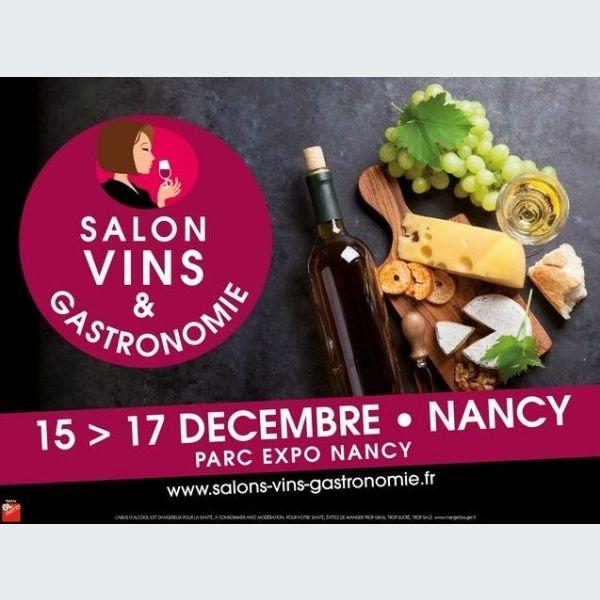 Salon vins et gastronomie nancy 2017 vandoeuvre l s for Salon gastronomie 2017