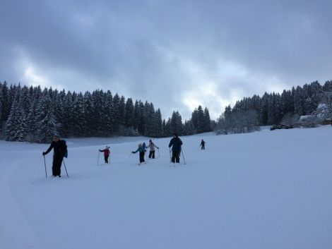 Samedi ski de fond en Forêt Noire