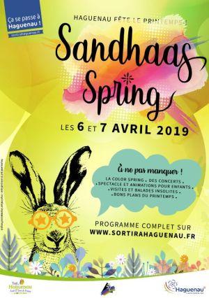 Sandhaas Spring - Fête du printemps à Haguenau 2019