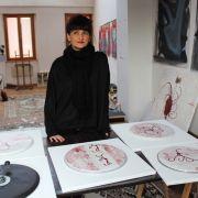Rencontre avec Sandrine Stahl, une plasticienne qui ne tourne pas qu\'en rond!