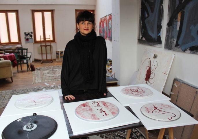 Sandrine Stahl, plasticienne alsacienne
