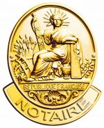 Le sceau des notaires de France illustre leur statut d\'officiers publics