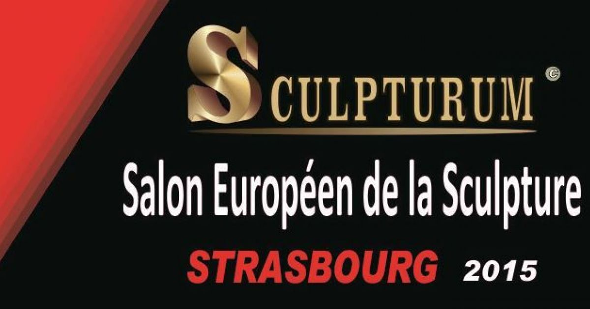 Sculpturum salon europ en de la sculpture strasbourg 2015 for Salon strasbourg wacken