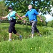 Séance de Nordic-walking