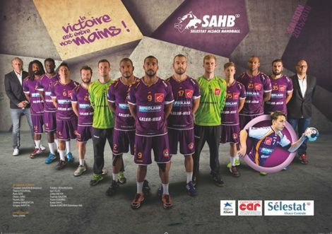 Photo officielle de l\'équipe de D2 pour la saison 2015/2016.