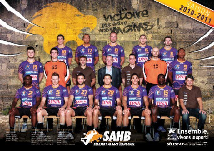 Sélestat Alsace Handball - SMV Vernon Saint Marcel