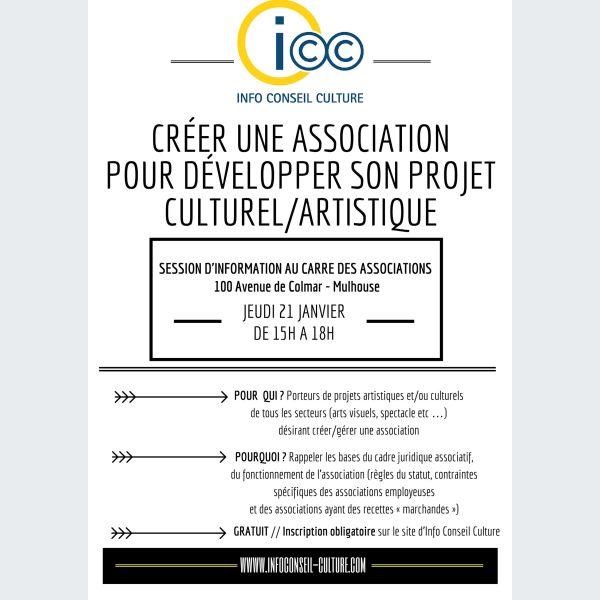 Cr er une association pour d velopper son projet culturel for Association pour travaux maison