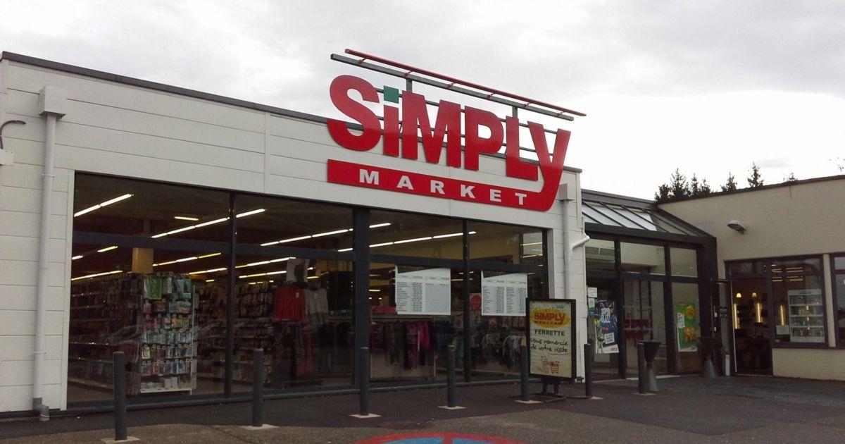 supermarch simply market de vieux ferrette. Black Bedroom Furniture Sets. Home Design Ideas